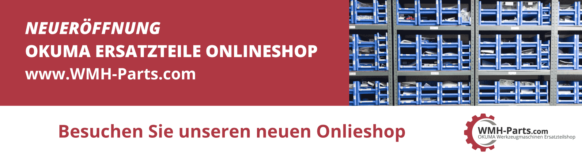 Onlineshop für OKUMA Ersatzteile