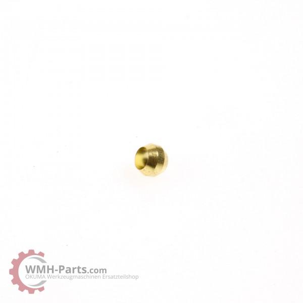 Showa Schneidring, Sleeve, Doppelkegelring für 4 mm Leitung - Okuma Schmierung