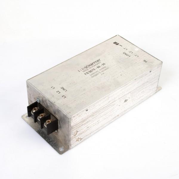 Schaffner FS 5675-80-56 3x480VAC Netzfilter / Power Line Filter / Entstörfilter