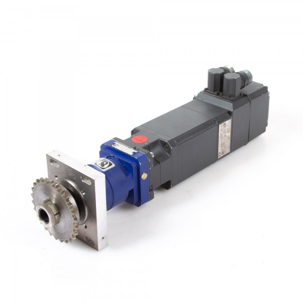 Siemens Synchronservomotor 1FT6034-1AK71-3EG1 inkl. Alpha Getriebebau SP 060-MF1-10-130-000 Planeten