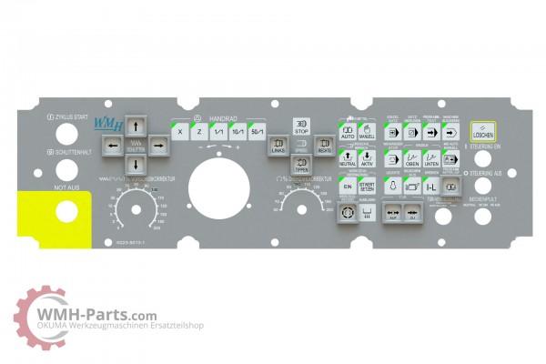 Tastaturfolie OKUMA OSP7000L und OSP U100L - inkl. Aufsteckrahmen