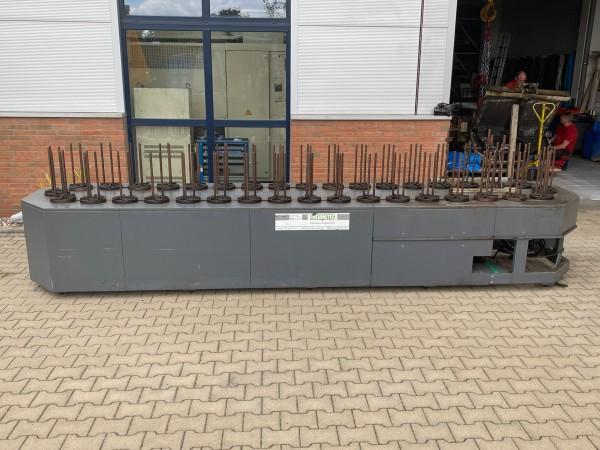 Pneumotec Stapelmagazin mit 36 Stationen, 380 mm Stapelhöhe