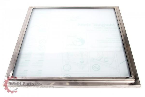 Sicherheitsfenster 658 x 658 x 28 mm 26 für OKUMA LB45II
