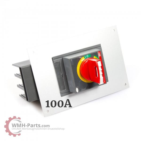 Hauptschalter 70 - 100A für Okuma