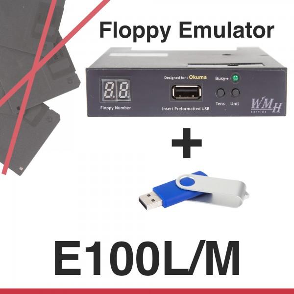 Floppy Emulator für Okuma E100L/M Steuerung - Upgrade Kit + USB Stick + Anleitung
