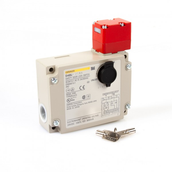 D4BL-2CRA Türverriegelung für Haupttür , Magnet-Sicherheitsschalter