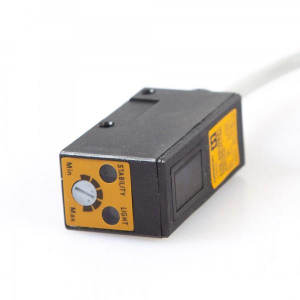 Omron E3S-DS10B41, 12-24 VDC 2m Kabel, Lichtschranke