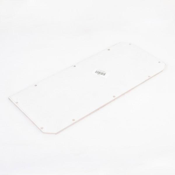Lampenabdeckung / Plexiglasscheibe für LB15 (alt), 450 x 190 mm