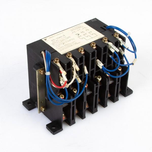 Yaskawa HV-75AP3 Magnetic Contactor 600V max