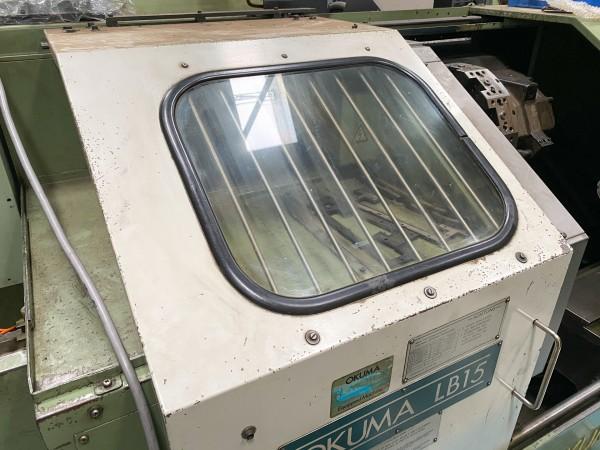 Sicherheitsglas / Sicherheitsscheibe für OKUMA LB15 - 510 x 440 x 6 mm