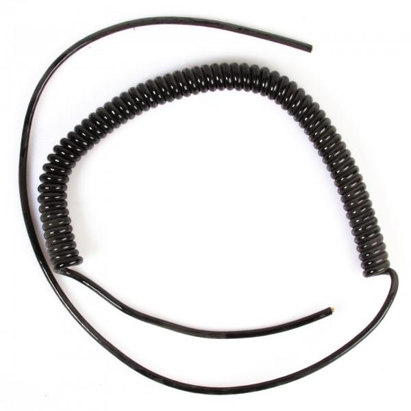 Anschlusskabel Spiralkabel für Handrad, 1,90 m, 25 Drähte